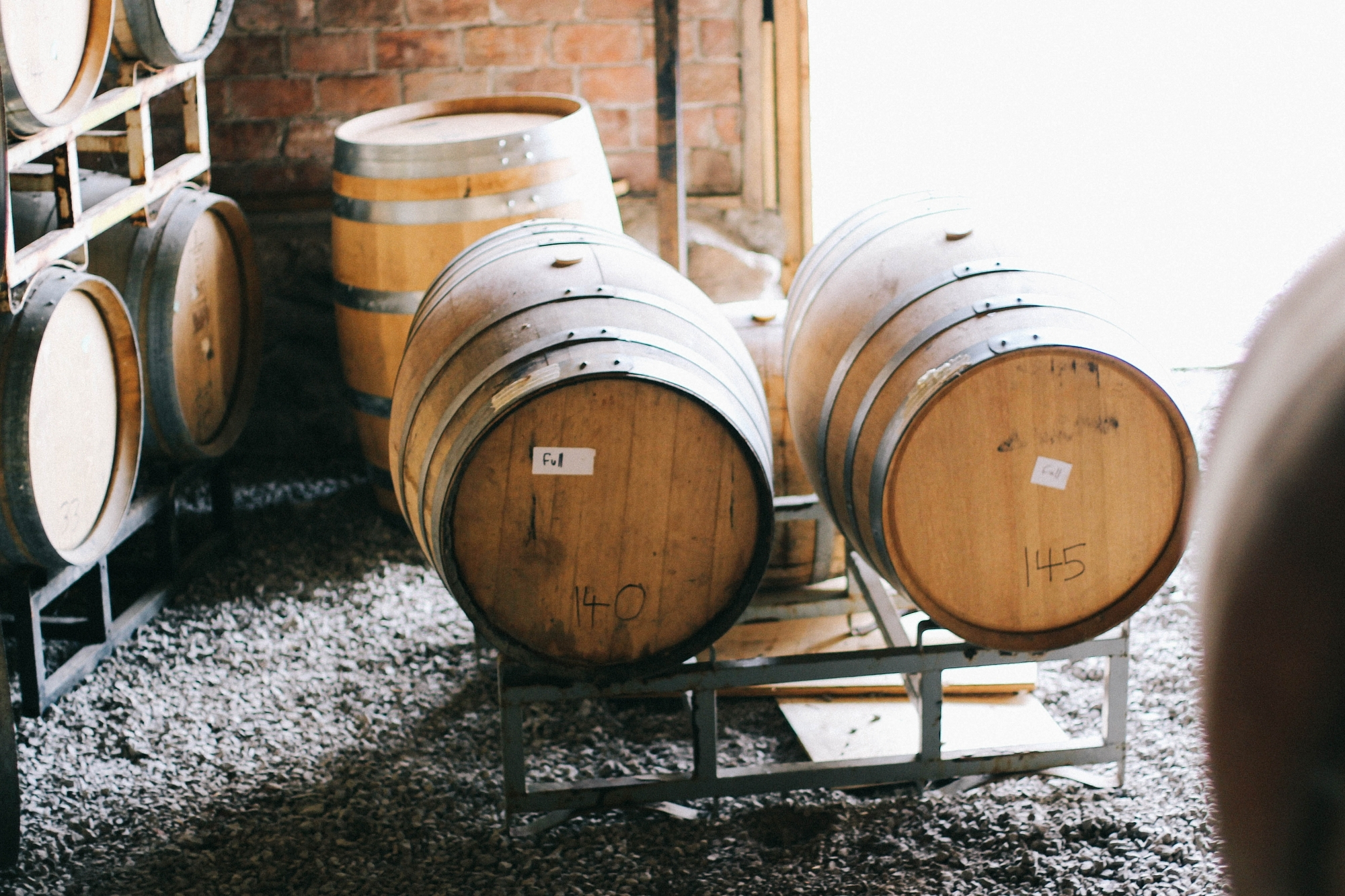 Barrels in Prince Edward County