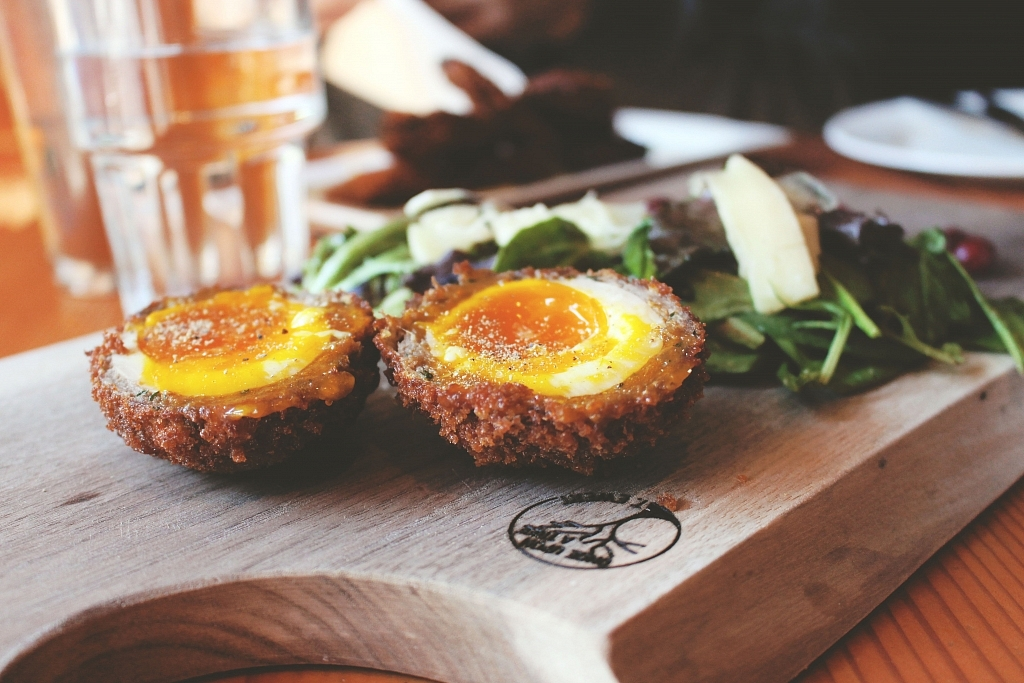 Miijidaa Cafe + Bistro Elk Scotch Egg