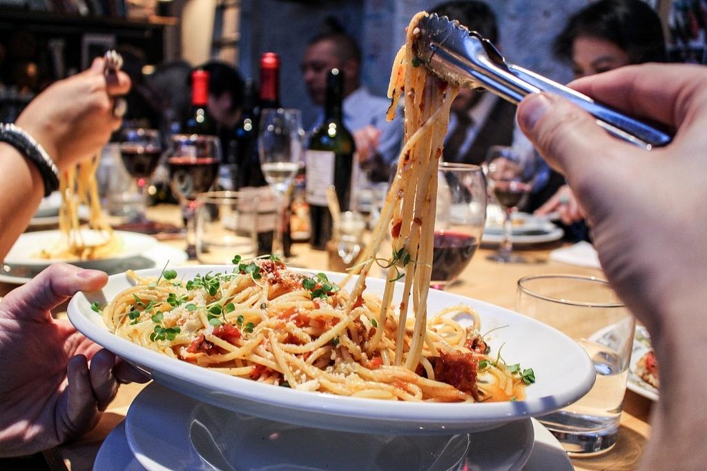 Spaghetti | Massimo Bruno's Kitchen Studio