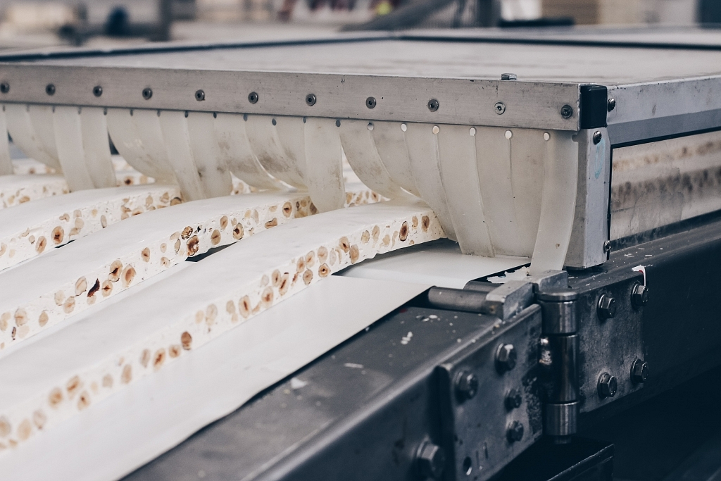 Torrone in the Sperlari Factory