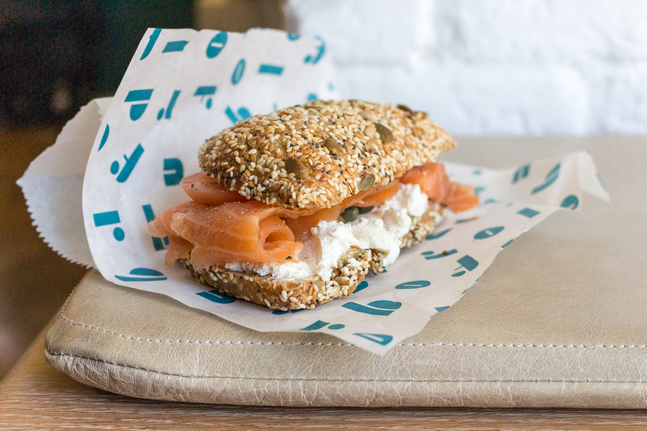 Brodflour Smoked Salmon Sandwich