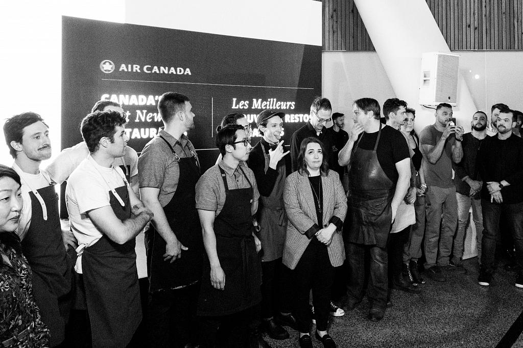 Air Canada Top 10 chefs