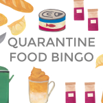 Quarantine Food Bingo