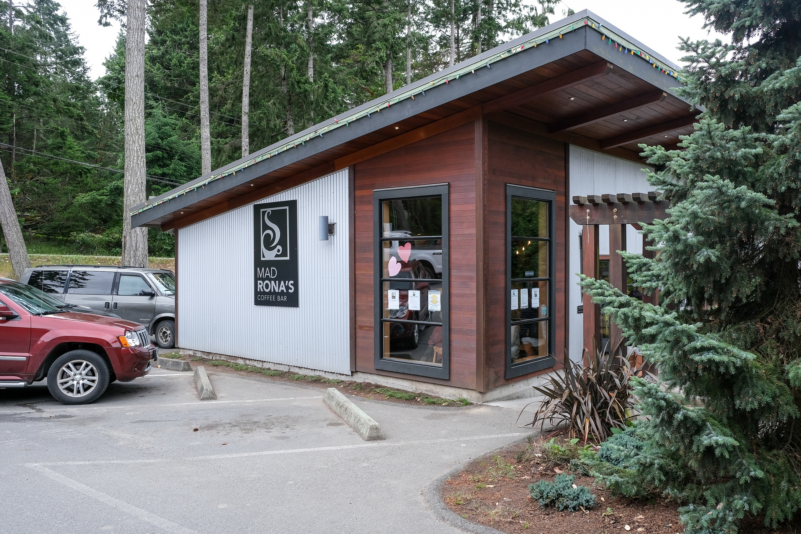 Mad Rona's Coffee Bar on Gabriola Island