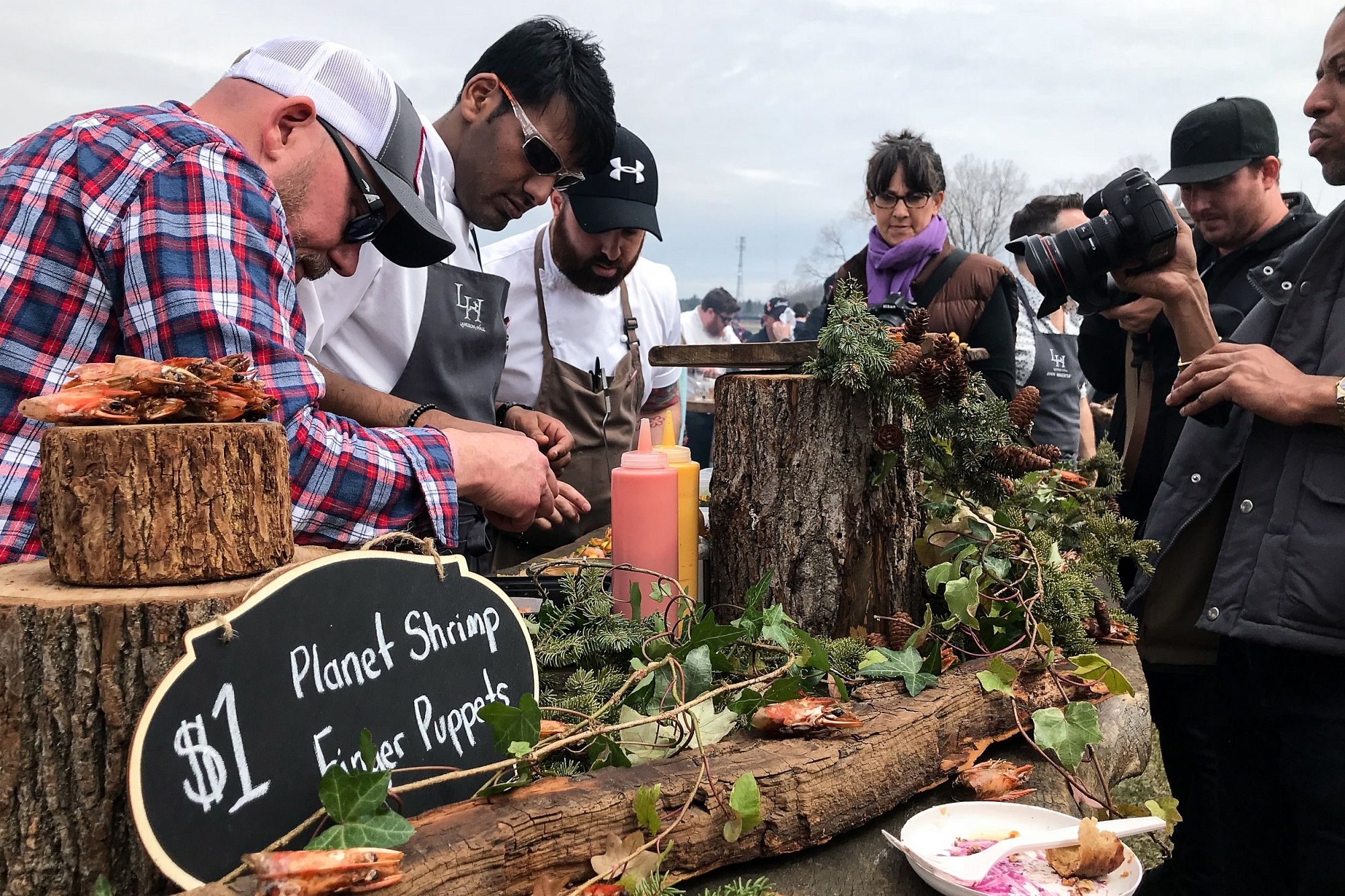 Terroir 2018 Rural Retreat Planet Shrimp Display